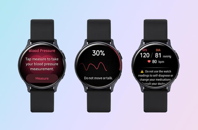 Samsung's Galaxy Watch Active 2 gets blood pressure monitoring
