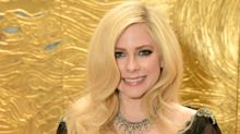 Avril Lavigne Walks First Carpet in Two Years