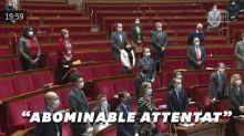 Professeur décapité à Conflans-Sainte-Honorine: l'Assemblée nationale debout en hommage
