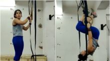 Ira Khan Working Out with Gymnastic Rings is Motivation You Need to Stay Fit