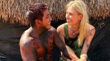 Aline Weber e índio Amary ficam noivos em conversa por vídeo