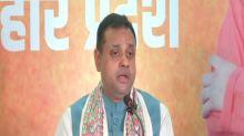 Upcoming polls in Bihar can be termed vikas versus jail: Sambit Patra