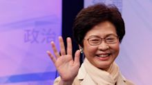 Carrie Lam is Hong Kong's first female chief executive