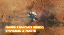 As potências mundiais da Terra estão se preparando para invadir Marte!