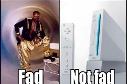 Wii Warm Up: How do you define a gaming fad?