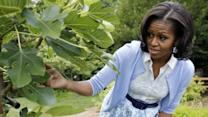 Michelle Obama on garden's 'teaching moments'