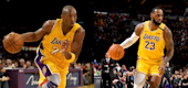 Kobe Bryant and LeBron James (Yahoo Entertainment)