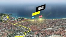 Tour de France 2020 : le profil de la 1re étape en vidéo (Nice-Nice, 156 km)