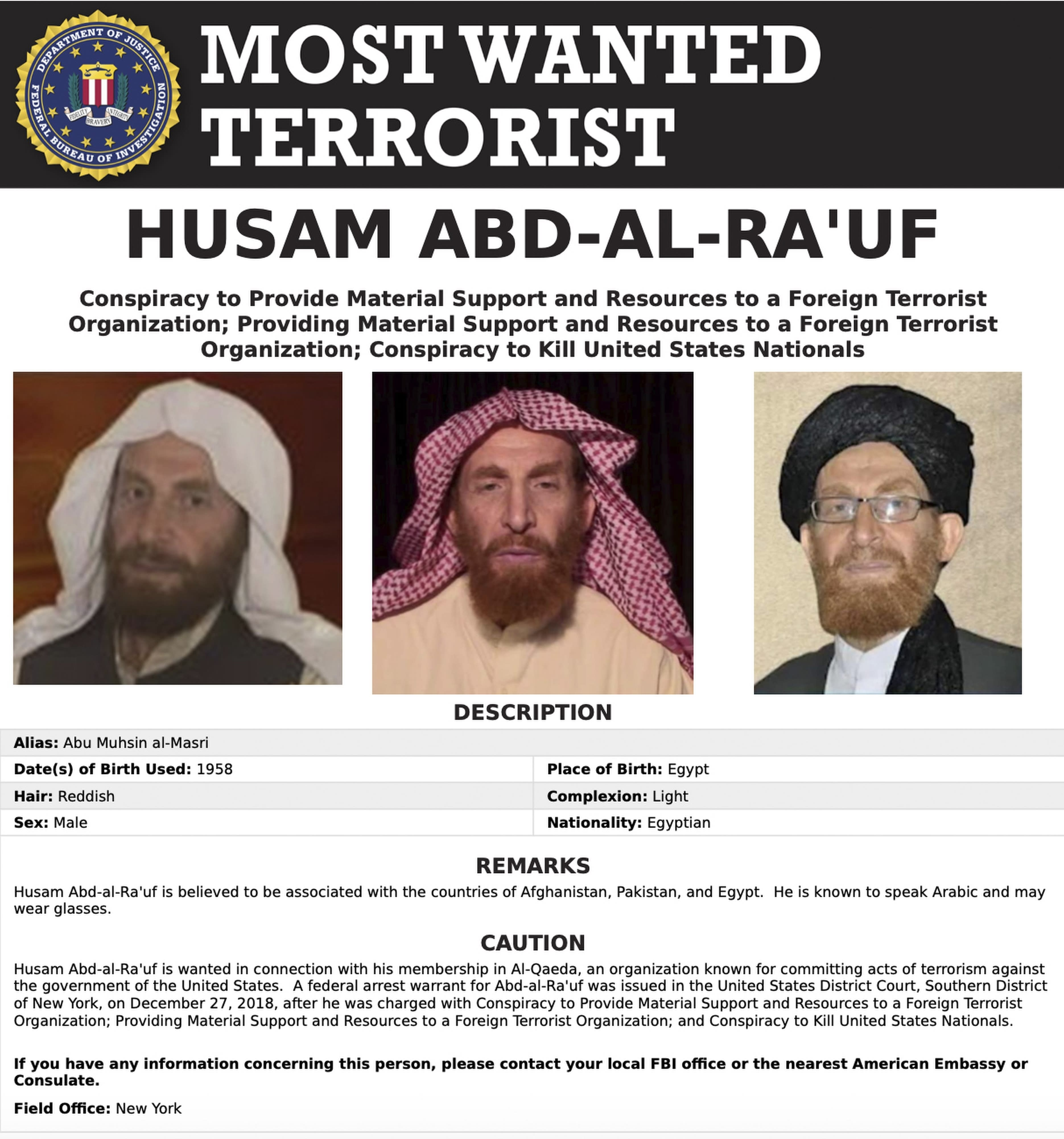 1 of the FBI's most wanted terrorists reportedly killed