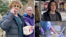TikTok video shows social media star eating KFC in front of vegan protesters