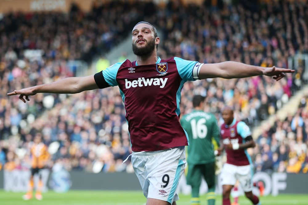 Andy Carroll is fit to return for West Ham