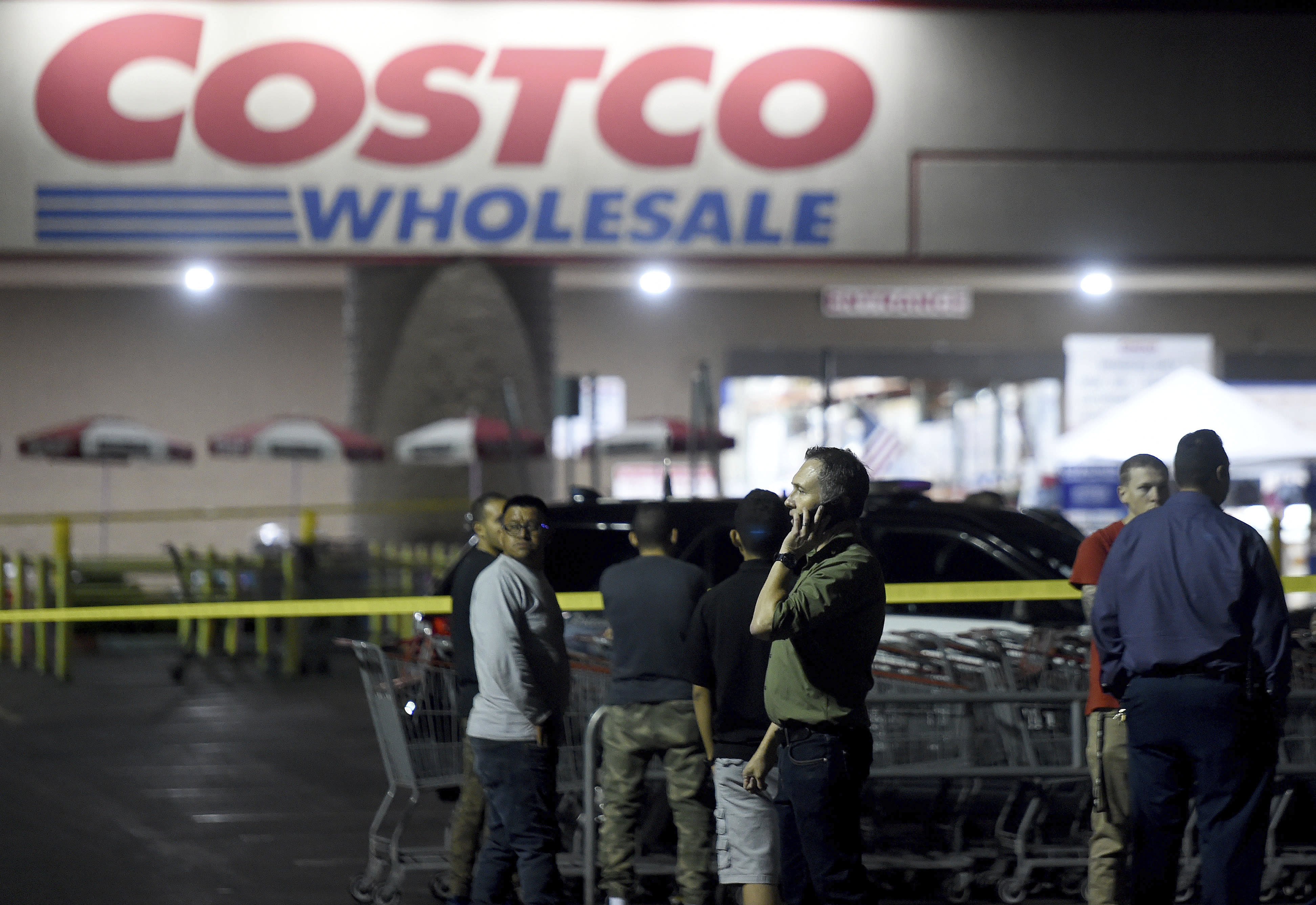 The Latest: Family: Costco shooting victim a 'gentle giant'
