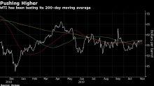 Oil Rises on Signs of U.S. Supply Drop, OPEC's Optimism
