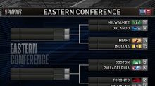 The NBA playoff bracket is set, including the league's first-ever play-in tournament