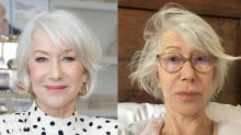 'A natural beauty': 74-year-old Helen Mirren goes makeup-free for charity