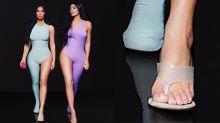 Kim Kardashian é traída pelo Photoshop e aparece com seis dedos no pé
