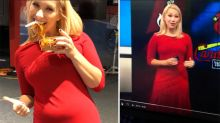 Weather presenter's hilarious response to body shamer