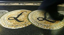 Pound surges to 5-week high against dollar despite mixed UK economic data