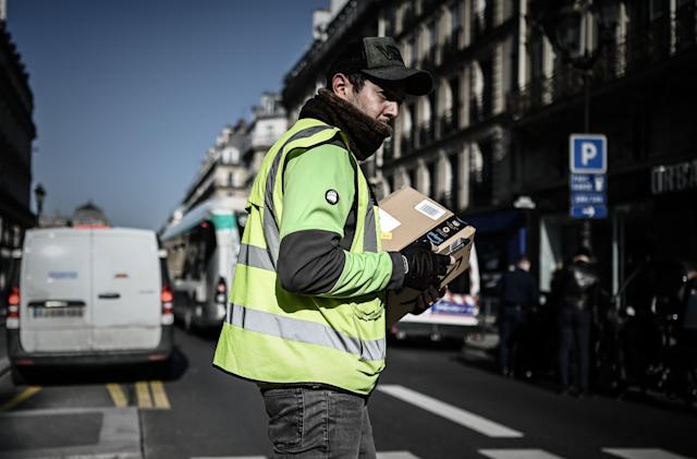 French court orders Amazon to continue only fulfilling essential orders