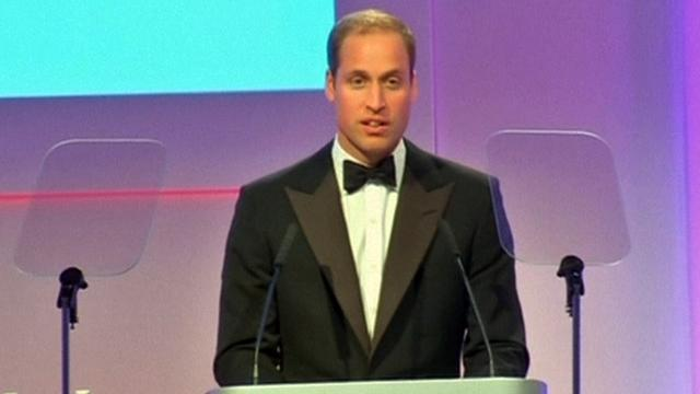 Prince William speaks at Tusk Conservation Awards