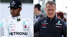 How Lewis Hamilton and Michael Schumacher compare after record-equalling win