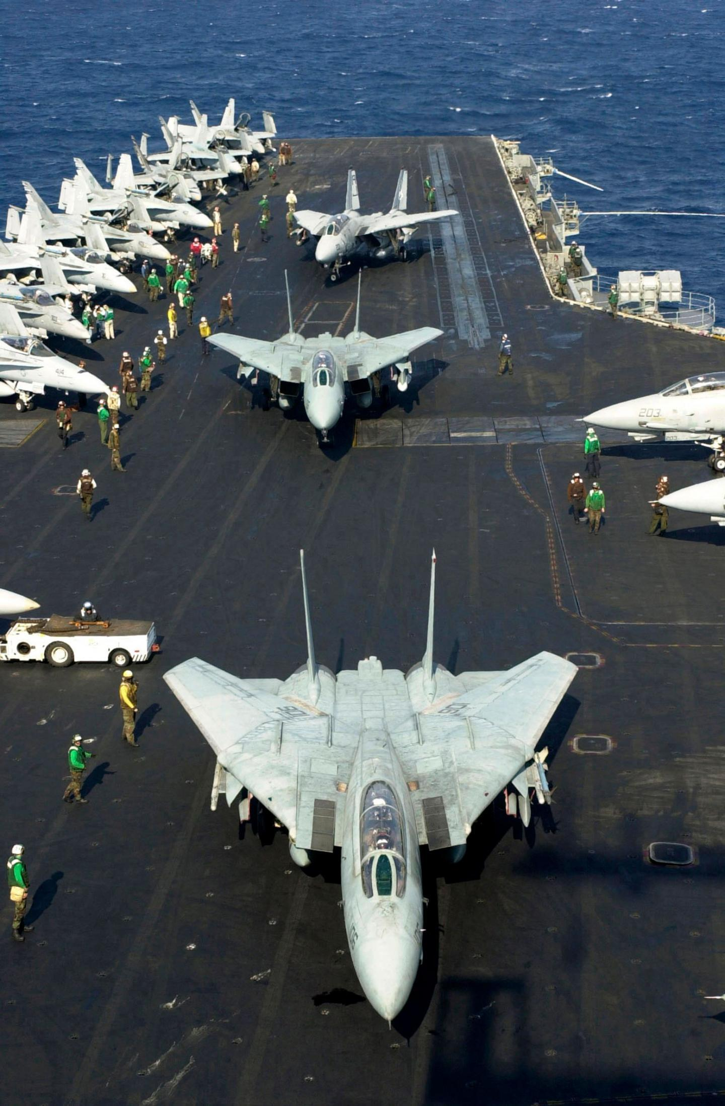 Why the Navy Misses Their Dear Old F-14 Tomcats
