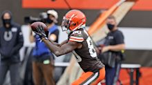 Jarvis Landry says the Browns receivers need more opportunities, but they're sticking together and staying patient
