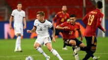 Espanha arranca empate no último lance contra Alemanha na Liga das Nações