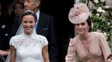 A drawing by the Duchess of Cambridge was on Pippa Middleton's wedding programs