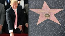 Donald Trump's Hollywood Walk of Fame star destroyed... again