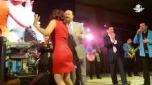 """César Duarte """"baila"""" al ritmo del """"Rock de la Cárcel"""""""