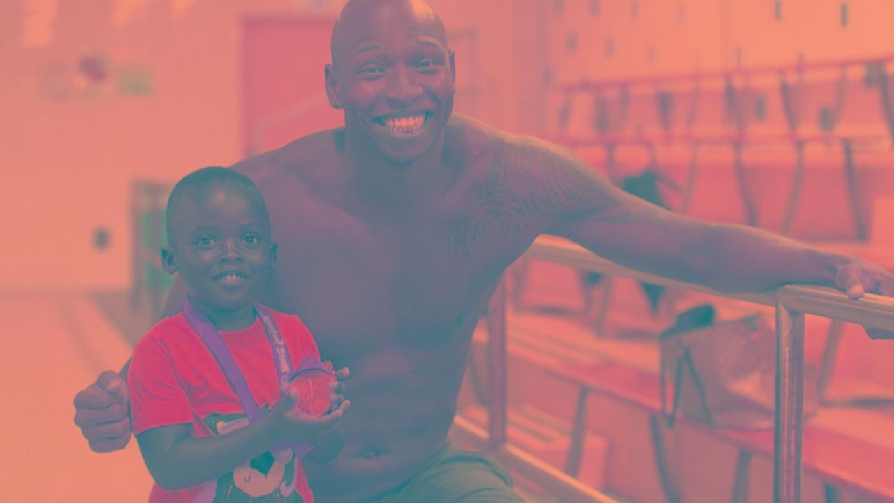 Cullen Jones challenges 'black people don't swim' stereotype