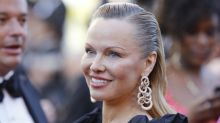 Pamela Anderson looks unrecognisable on the red carpet at Cannes