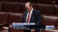 """Rep. Yoho apologizes for tone of conversation with AOC, says """"offensive name-calling words"""" weren't spoken to his colleagues"""
