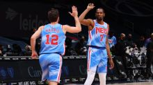 Kevin Durant: Joe Harris 'right up there, getting there' with Splash Brothers
