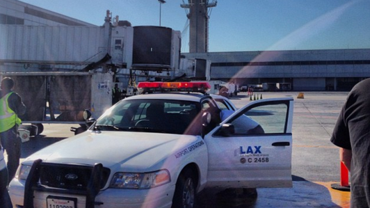 Gunfire causes chaos, flight cancellations at LAX