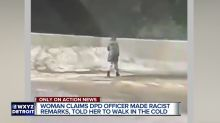 Police officer who took a Snapchat video of a young woman walking home in the cold gets demoted