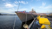 Another Lockheed littoral combat ship commissioned by Navy