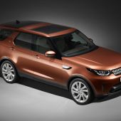 Land Rover Unveils New 2017 Discovery at Paris Motor Show