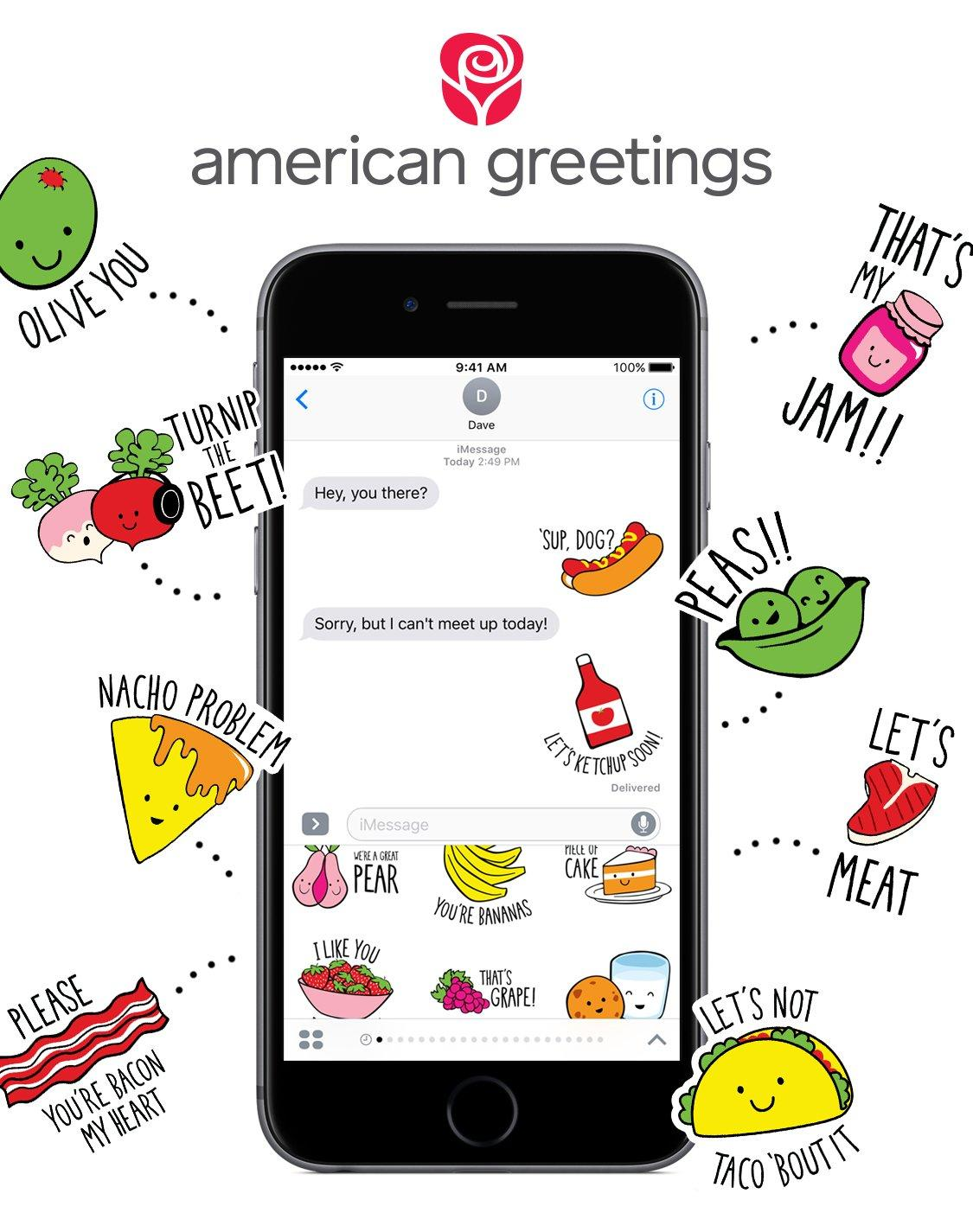 American greetings debuts brand new sticker packs for imessage m4hsunfo
