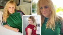 Rebel Wilson sizzles in green Gucci in latest transformation snap