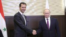 Russia's Putin hosts Syria's Assad for talks - Kremlin