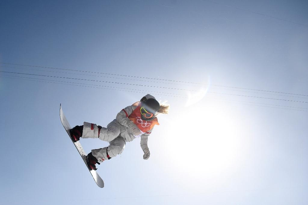 US sensation Chloe Kim has melted the hearts of home fans in Pyeongchang thanks to her ever-ready smile and Korean heritage (AFP Photo/Martin BUREAU)