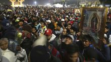 Millones veneran a Virgen de Guadalupe en México