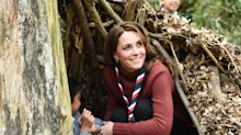 Duchess of Cambridge says she hopes George, Charlotte and Louis will be Scouts as she puts her leadership skills to the test