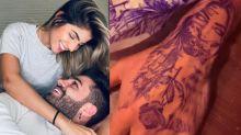 """Netto faz tatuagem com o rosto de Hariany e é criticado: """"Loucura"""""""