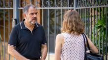 Em 'Totalmente Demais', Germano fica cara a cara com Sofia, que acreditava estar morta: 'É você mesmo, minha filha?'