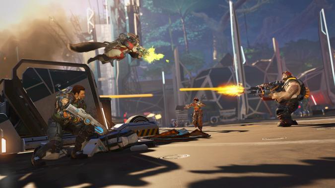 A screenshot from Amazon Games hero shooter Crucible.