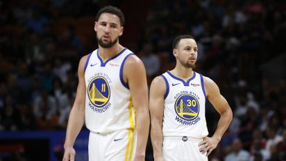 Steph optimistic despite Klay's 'gut punch' injury