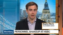 HSBC Hires RBS's Stevenson to Succeed Mackay as Finance Director